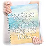 Tools4Wisdom Planner 2017-2018 - Now in Full Color - July 2017 to June 2018 Calendar - Daily Weekly Monthly Organizer - 8.5 by 11 Hardcover with Tabs