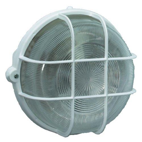 Brennenstuhl Rundleuchte Color / Lampe für Außen - und Innenbereich (spritzwassergeschützte Leuchte zur Decken- und Wandmontage, IP44) Farbe: weiß IP44) Farbe: weiß 1270720