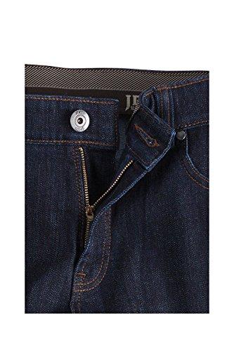 JP 1880 Homme Grandes tailles Jeans coupe droite aspect usé Denim pour Homme bleu foncé 102 696791 93-102