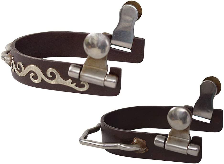 Classic Rope Company Engraved Scroll Bumper Spur