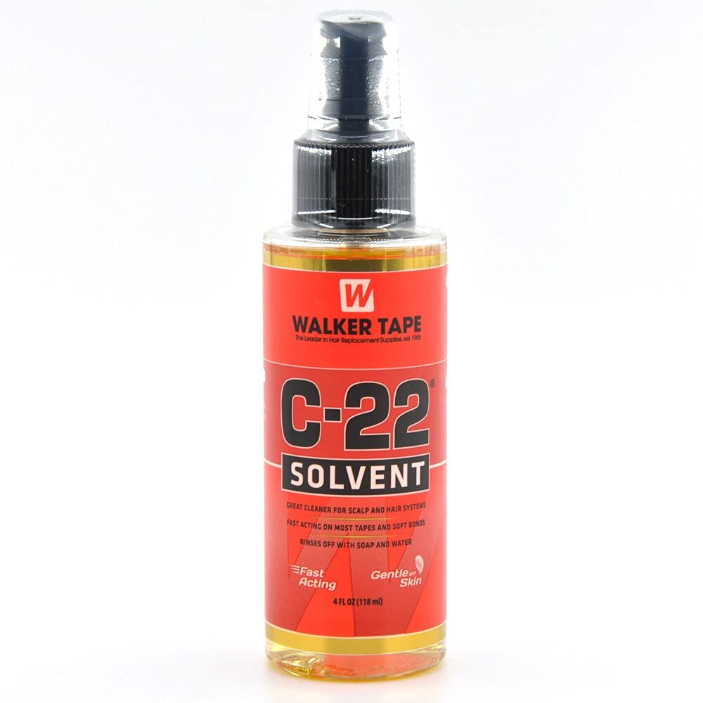 Walker Tape C22 Solvent 4Oz Spray For Lace Wigs & Toupees by Walker Tape