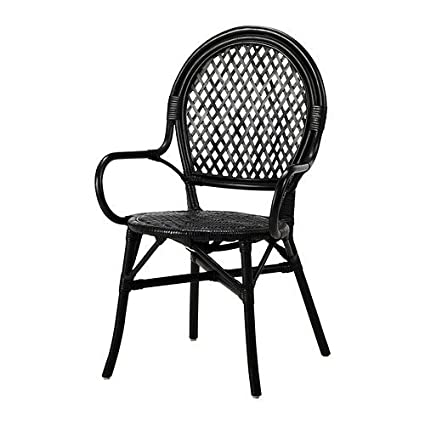Peachy Amazon Com Ikea Black Rattan Fiber Chair 1826 11142 638 Gmtry Best Dining Table And Chair Ideas Images Gmtryco
