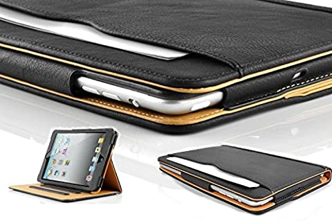 S-Tech Soft Leather Sleep/Wake Flip Case for Apple iPad 2, 3, and 4th Generation (Touch Ipad A1416)