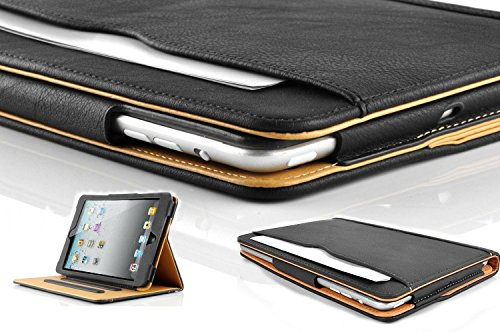 New S-Tech Apple iPad 2 3 4 Generation Soft Leather Wallet Smart Cover with Sleep/Wake Feature Flip Case