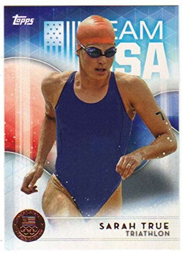 2016 Topps US Olympic Team USA Bronze #41 Sarah True - Triathlon Us