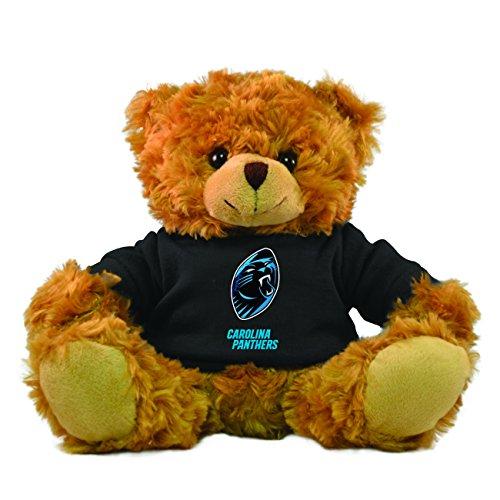 Carolina Panthers Face (NFL Carolina Panthers Hoodie Bear, 9-inch)