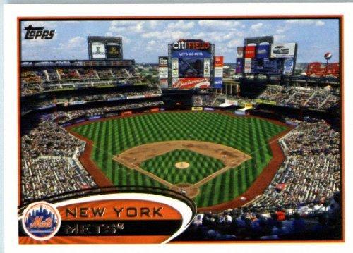 2012 Topps Team Edition Baseball Card  Nym17 Citi Field New York Mets