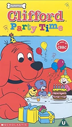 Superb Clifford Party Time Vhs Clifford The Big Red Dog Amazon Co Uk Personalised Birthday Cards Petedlily Jamesorg