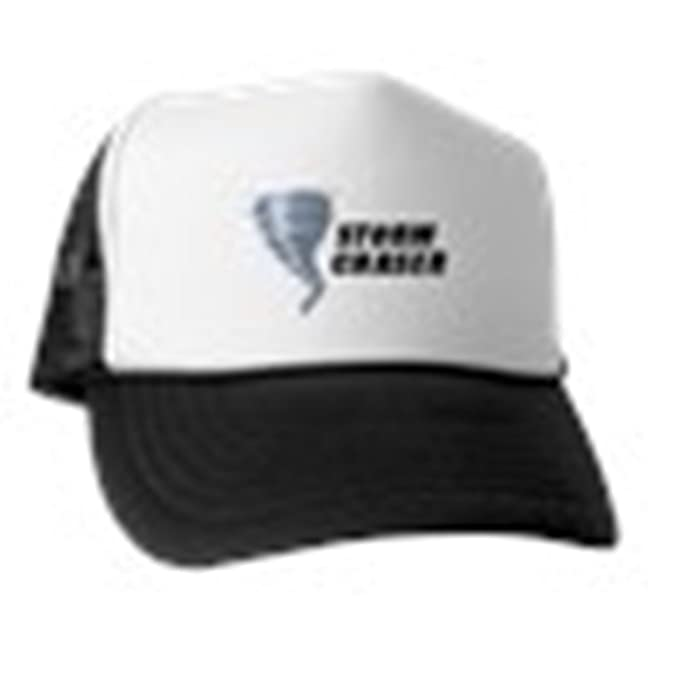 de2a69d9c Amazon.com: CafePress - Storm Chaser - Trucker Hat, Classic Baseball ...
