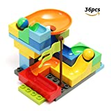Image of FUNTOK 36pcs Star Travel Marble Run Railway Toys Construction Child Building Blocks Toys