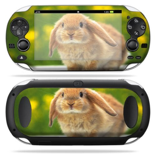 MightySkins Skin Compatible with PS Vita PSVITA Playstation Vita Portable wrap Sticker Skins Rabbit