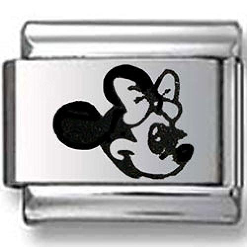 Minnie Mouse Laser Italian charm