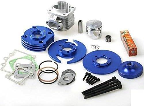 Zubeh/ör Set Big Bore 7 Tuning Motor Set Pocketbike Motor 49ccm Dirtbike Motor Set Blau Zylinder Kurbelwelle