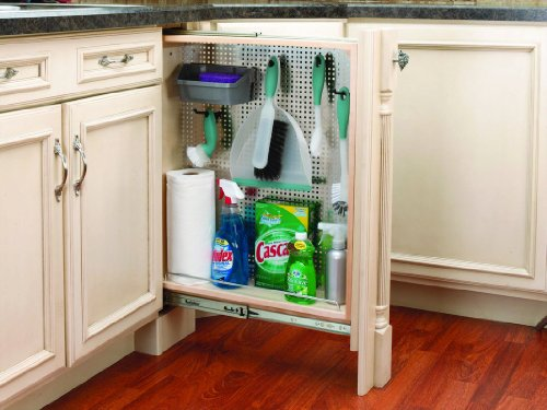 Stainless Steel Cabinet Base - Rev-A-Shelf 6