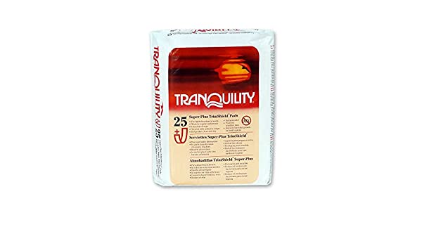 Amazon.com: Tranquility TrimShield Super-Plus Pads Pk/25: Health & Personal Care