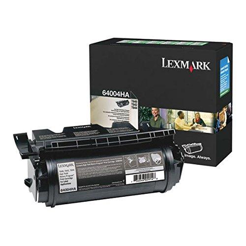 (Lexmark 64015HA OEM Toner - T640 T642 T644 High Yield Return Program Toner (21000 Yield) )