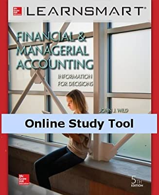 LearnSmart for Financial and Managerial Accounting