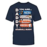 MARLINS - DADDY YOU ARE BASEBALL BUDDY - T-Shirt - Officially Licensed Fashion Sports Apparel