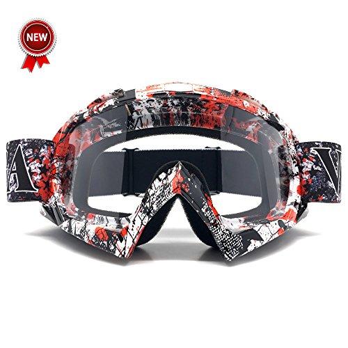 Zdatt Bendable Snow Skiing Snowboarding Goggles,Unisex Motocross Sports Snowmobile Snowboard Ski Goggles Anti Fog Dust UV, Dustproof - Goggles Fashionable