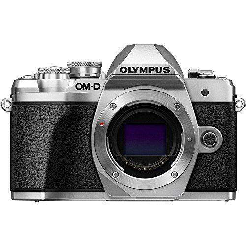 Olympus OM-D E-M10 Mark III (Mark 3) Digital Camera [Silver] + M.Zuiko Digital ED 14-42mm f/3.5-5.6 EZ Lens (Silver) + M.Zuiko Digital ED 40-150mm f/4.0-5.6 R Lens (Silver) by Olympus (Image #1)