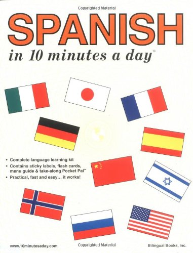 Spanish in 10 Minutes a Day (10 Minutes a Day Series)