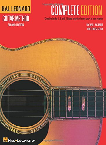 Hal Leonard Guitar Method, - Complete - Songbook Edition 2nd