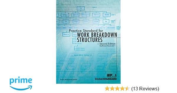 amazon com practice standard for work breakdown structures