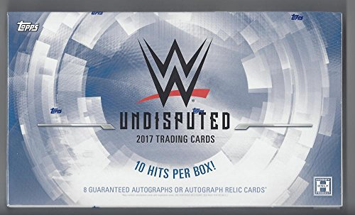 2017 Topps WWE Undisputed Wrestling Hobby Box - 10 Hits Per Box Photo