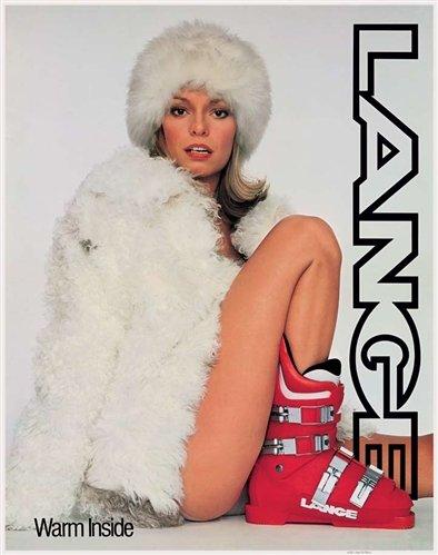 Lange Classic Ski Poster - Warm Inside
