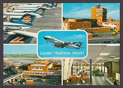 London Heathrow Airport - London Heathrow Airport UK postcard 1960s