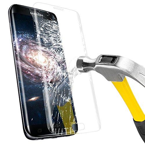 Mture Galaxy S7 Edge Displayschutz 3D Full Coverage Schutzfolie Schutzglas Für S7 Edge Panzerglas Für Samsung Galaxy S7 Edge - Transparente -1 Pack