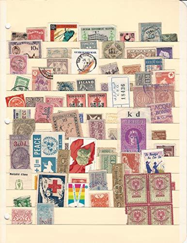 Worldwide Stamp Collection, Revenues & Cinderellas, Interesting Lot, DKZ