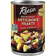 Reese Quartered Artichoke Hearts, 14-Ounces (Pack of 12)