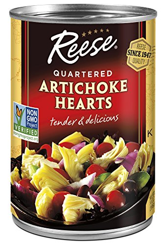 Roasted Hearts Artichoke (Reese Quartered Artichoke Hearts, 14-Ounces (Pack of 12))