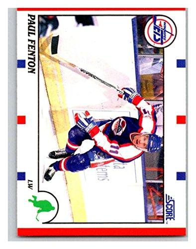 1990-91 Score #156 Paul Fenton Mint Hockey NHL Winn Jets
