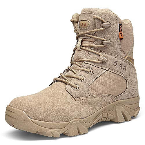 Safety resistenti Scarpe High Beige Rosegal Rise Uomo Sports Men's Warm Boots antiscivolo SqPz6w5