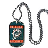 NFL Miami Dolphins Dog Tag Necklace