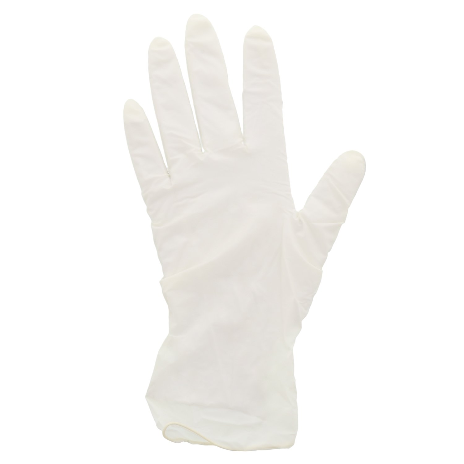 AmerCare Apollo Latex Gloves, Powder Free, Medium, Case of 1000