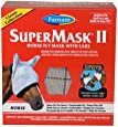 Farnam SuperMask II Classic Horse Fly Mask with Ears, Horse size, Assorted
