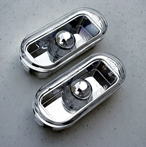 Clear Euro Side Marker Lights Turn Signals For VW Golf Jetta MK4 4 Passat B5 B5.5