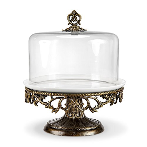 Viridian Bay Fontaine Collection Belrose Cake Stand
