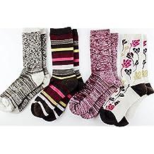 Kirkland Signature Ladies Merino Wool Extra-Fine Trail Socks, 4 Pairs