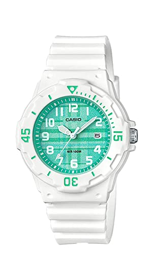 Amazon.com: Casio LRW200H-3CV - Reloj de pulsera para mujer ...
