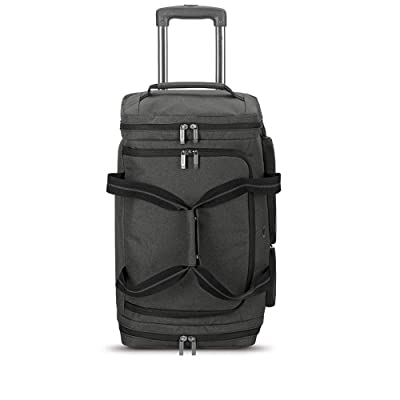 Solo New York Leroy 22 Inch Carry-On Wheeled Duffle Bag 49L Capacity
