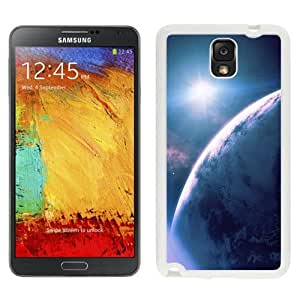 NEW Unique Custom Designed Samsung Galaxy Note 3 N900A N900V N900P N900T Phone Case With Outer Space Planet View Star_White Phone Case