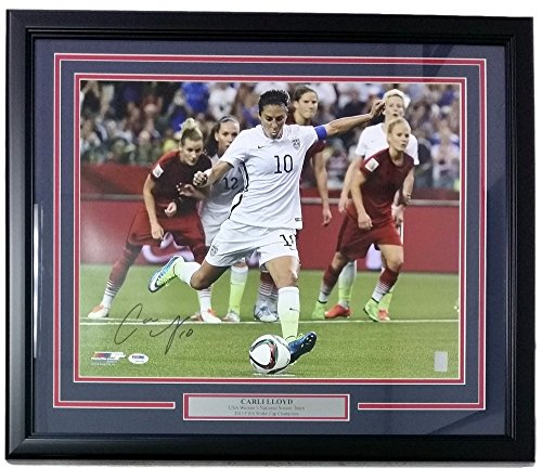 Carli Lloyd USA Soccer Signed Framed 16x20 2015 World Cup...