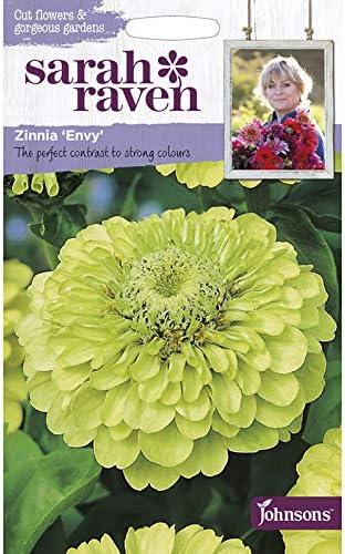 【輸入種子】 Johnsons Seeds Sarah Raven Cut flowers & gorgeous gardens Zinnia Envy サラ・レイブン カットフラワーズ ジニア・エンヴィ ジョンソンズシード