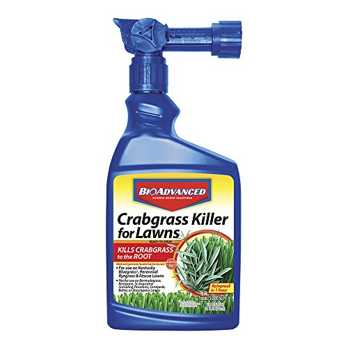 Bayer Advanced 704115 Crabgrass Killer for Lawns Ready-To-Spray, 32-Ounce Bayer All In One Weed Killer