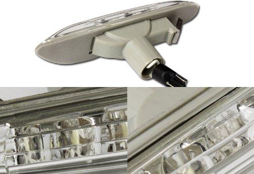 2002-2005 BMW E46 3 Series Sedan Clear Lens White LED Side Marker Light