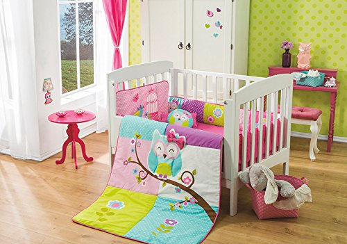 Special Doroty Owl Crib Bedding